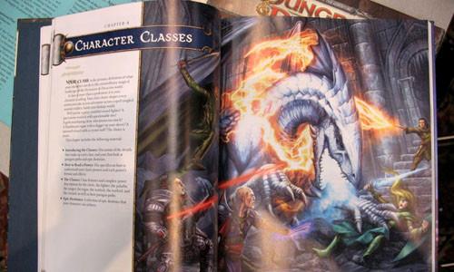 Manual del Jugador D&D Cuarta Edicion