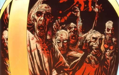 The Walking Dead, los muertos vivientes