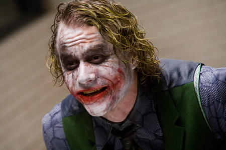 Heath Ledger en The Dark Knight