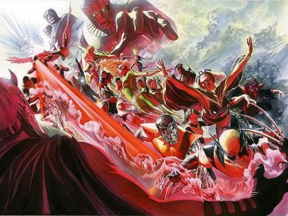 Alex Ross, portada para X-Men