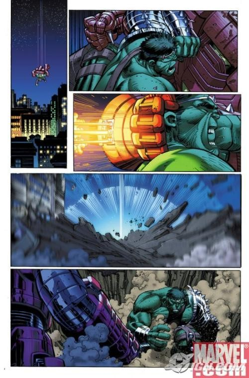 World War Hulk 1, John Romita
