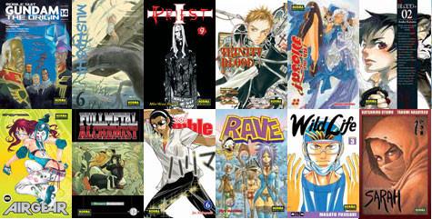 Colección Manga de Norma