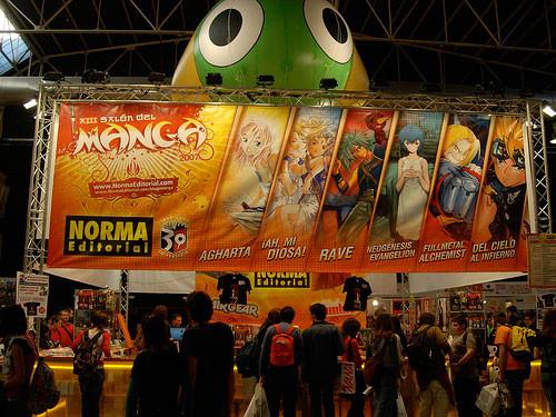 Stand de Norma Editorial en el Salon del Manga
