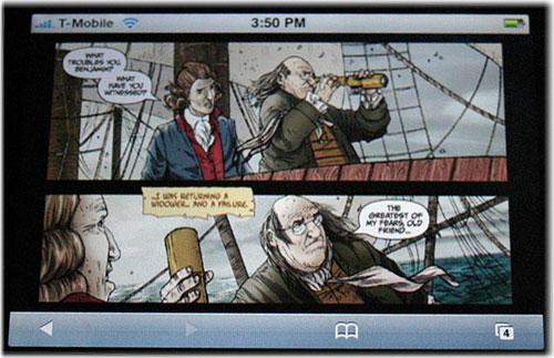 IPhone y los comics