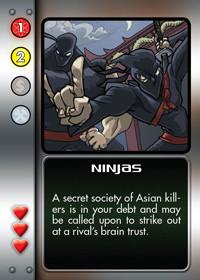 Secuaces en Mwahahaha!: Ninjas