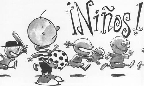 ¡Niños!, El Juego de Rol de los Niños de Goma