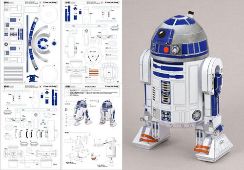 Recortable de R2-D2