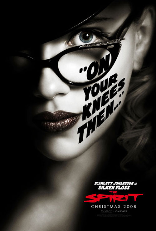 Scarlett Johansson como Silken Foss en The Spirit