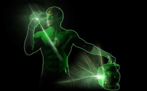 Hal Jordan es Green Lantern
