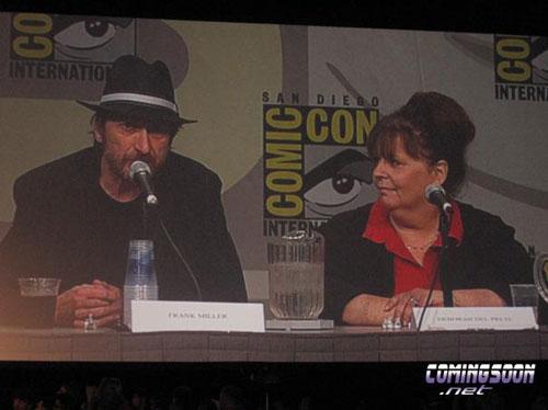 Conferencia de The Spirit en la Comic-Con