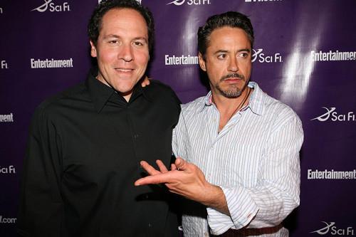 Jon Favreau y Robert Downey Jr