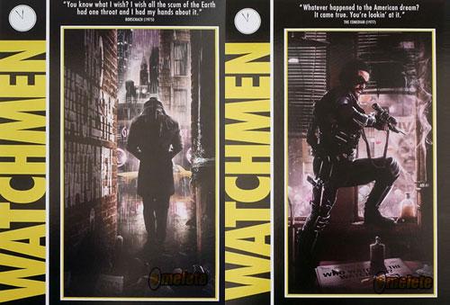 Posteres de Watchmen