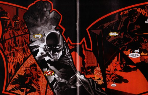 Splash de Batman de JH Williams III