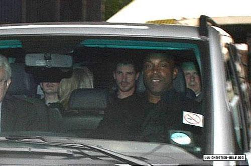 Christian Bale, tras declarar en comisaría