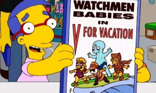 The Watchmen Babies en V de Vacaciones