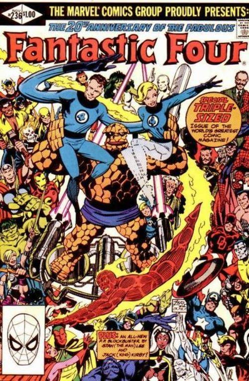 Fantastic Four 236 - 20 Aniversario