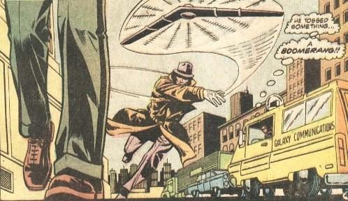 Clark Kent testigo intento asesinato del Asesino del Boomerang