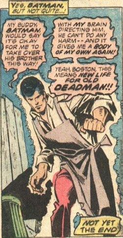 Deadman posee a Thomas Wayne