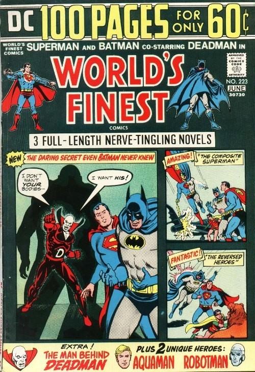 Portada World's Finest Comics 223