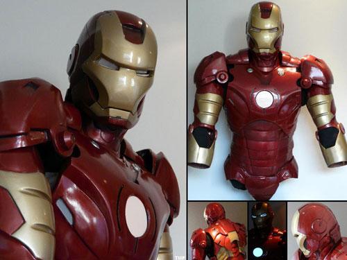 Armadura casi completa de Iron Man