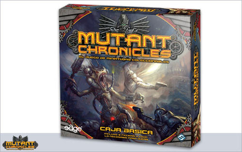 Mutant Chronicles Wargame, caja básica