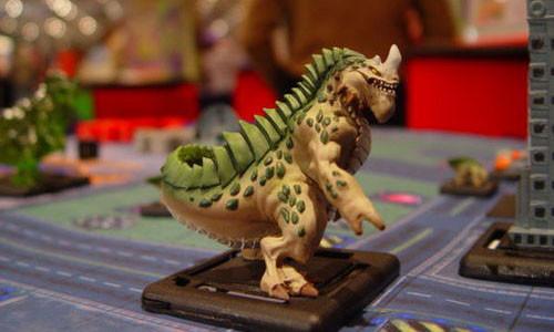 Un Terrasaurio en acción