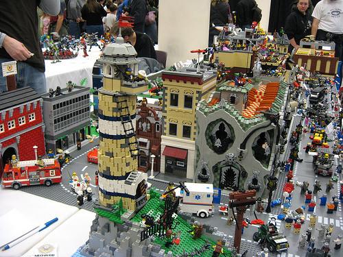 Apocalipsis Zombi de Lego