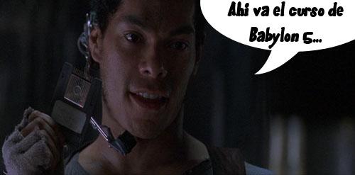 Ahi va el curso de Babylon 5