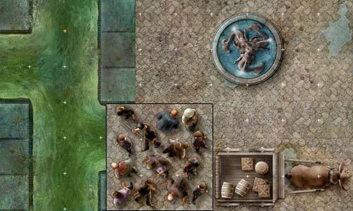 Street of Shadow Dungeon Tiles