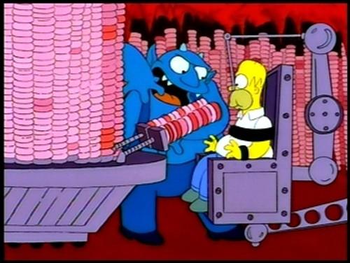 Homer rosquillas