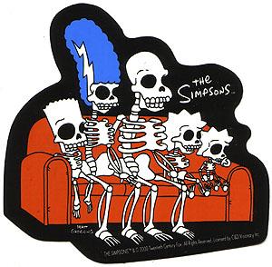 Simpsons esqueletos
