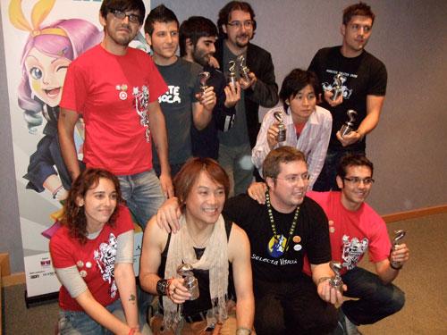 Los premiados en los I Premios del Salón del Manga