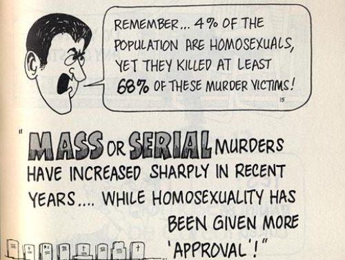 Los gays son asesinos