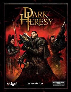 Portada del Dark Heresy Manual Basico