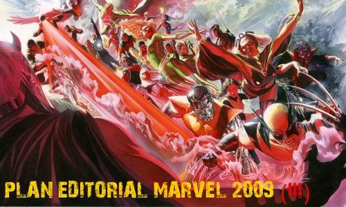 Uncanny X-Men 500: Plan editorial Marvel 2009