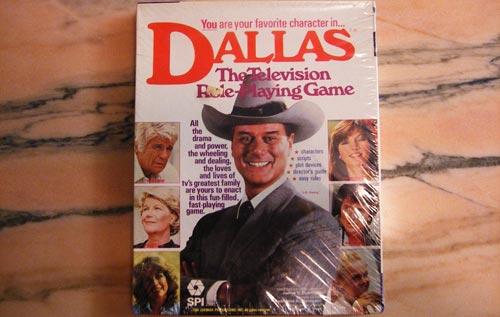 Portada de Dallas: El Juego de Rol de TV