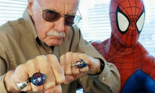 Stan Lee y Spidey