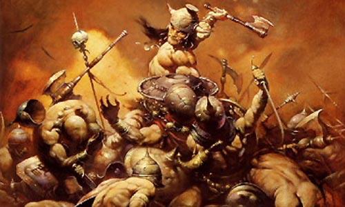 Conan, liado con lo suyo