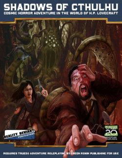 Shadows of Cthulhu, más rol basado en los Mitos de Lovecraft para True20