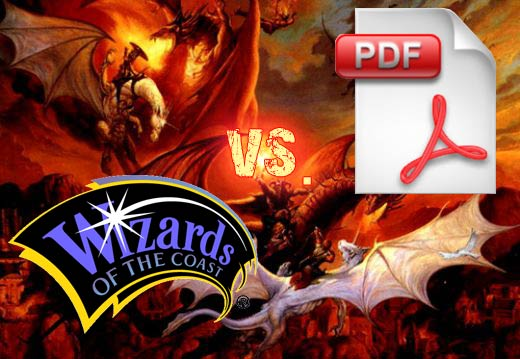 Wizards of the Coast vs. PDFs