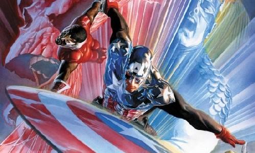 Capitan America 600 por Ross