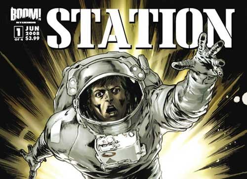 Portada de Station, de Johanna Stokes y Boom Studio