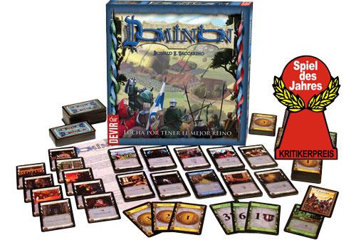 Dominion, ganador del Spiel des Jahres 2009