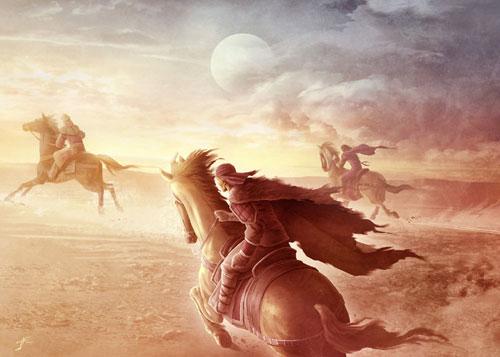 Jinetes Dothraki