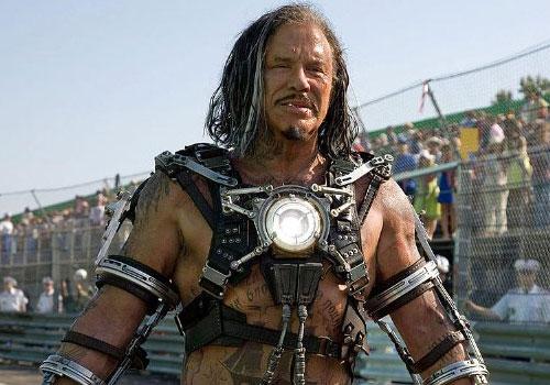 Mickey Rourke como Whiplash en Iron Man 2
