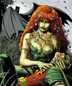 Poison Ivy, o Hiedra Venenosa (ortiga, en realidad), una ecologista radical