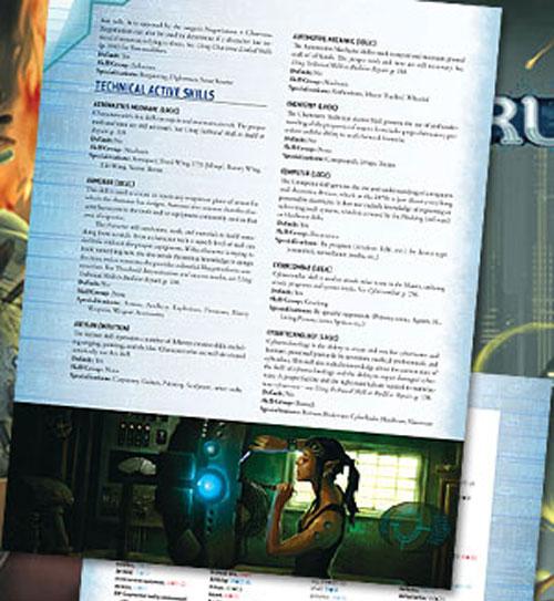 Preview de la edición especial 20 aniversario de la cuarta edición de Shadowrun