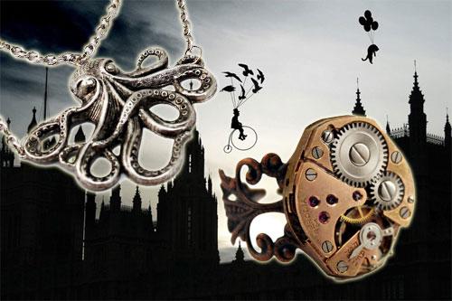 Joyas steampunk de London Particulars