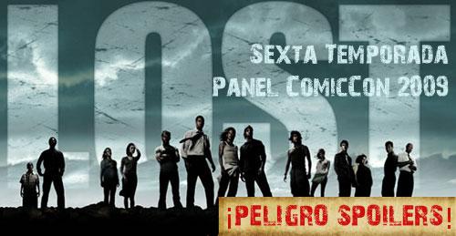 Lost: Panel ComicCon 2009 sobre la sexta temporada