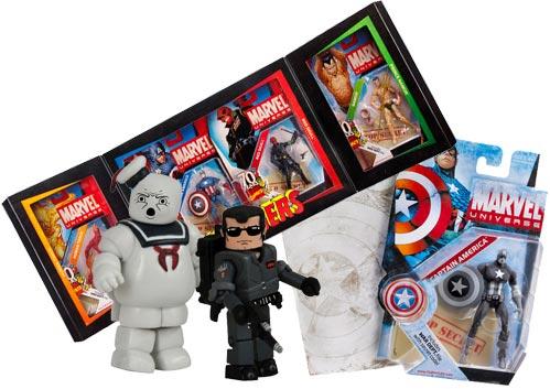 Merchandising exclusivo de la ComicCon 2009